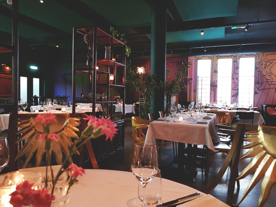 ambiance pop-up restaurant baut amsterdam