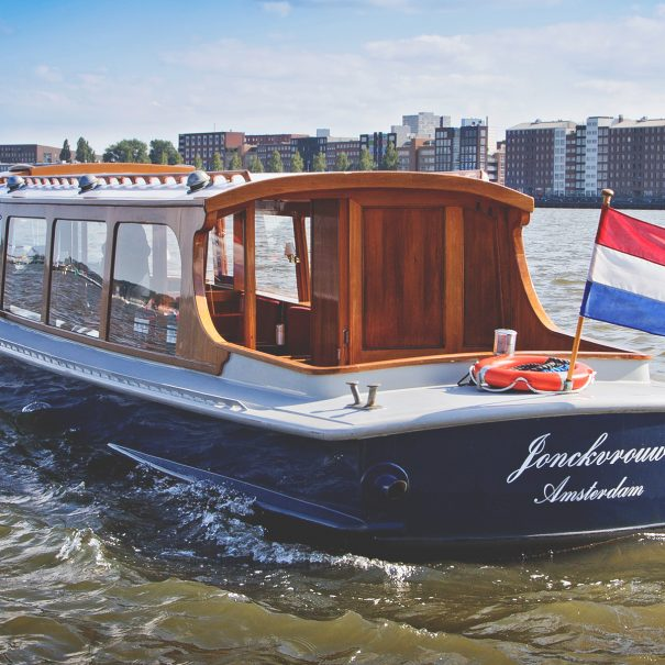 amsterdam noord boat and bike tour